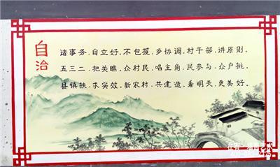 新农村社会主义核心价值观文化墙图片