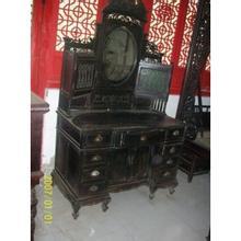 收购价格红木家具回收红酸枝梳妆台卧室上海,v价格家具主材图片