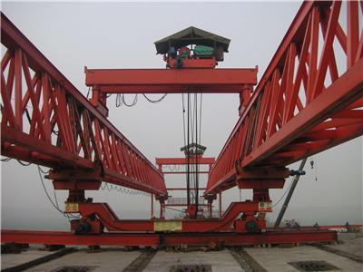 按其形状有单导梁和双导梁之分,双导梁架桥按其行走方式又分为步履式图片
