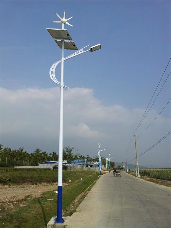 产品展示 > led农村节能路灯 led风光互补路灯   灯具名称:太阳能路灯图片