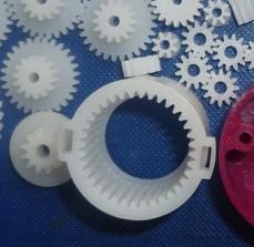 生產廠家-塑膠美發美容齒輪箱 齒輪箱模具