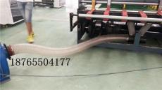 透明色耐磨除尘风管机械抽吸粉末PU钢丝管