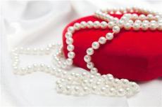 珍珠项链加工 手工活加工 桌纳珠宝