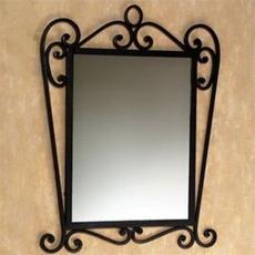 歐式鐵框鏡子