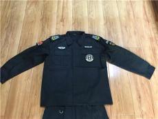 昆明保安服套装 新式保安制服 保安作训服