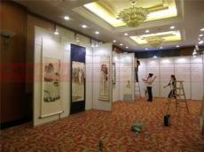 上海拍卖会展具供应商 加高挂画展板租赁