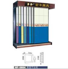 推拉式背景墙展示柜 墙纸展柜 瓷砖展柜