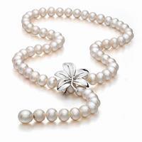 手工活在家串珠 珍珠项链手链串珠流程