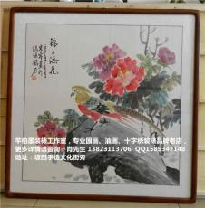 深圳龍華區手工字畫裝裱 本店支持上門取貨