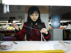 山东省哪里有手工活串珠加工饰品加工项链