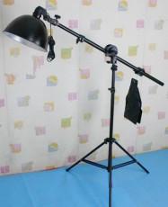 廣口燈頂架燈攝影棚補光燈2米高鋁合金燈架