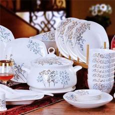 禮品餐具批發 促銷禮品陶瓷餐具套裝