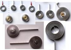 双金属游丝 盘状元件