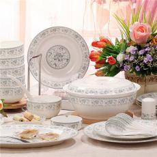 供應景德鎮禮品陶瓷餐具碗盤批發 陶瓷餐具
