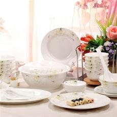 廠家定做陶瓷禮品餐具 景德鎮陶瓷餐具生產