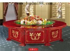 電動餐桌大圓桌 豪華/酒店火鍋桌
