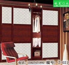 武汉林莱整体家居定制移门衣柜橱柜