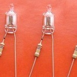 4X10氖燈加1/4W 68K電阻廠家直銷
