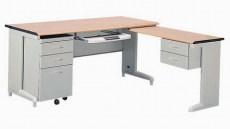 扬州钢木办公桌主管桌